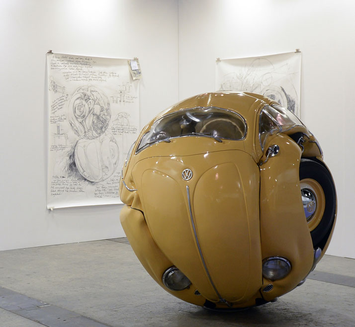 "The Volkswagen ""Beetle Sphere"" by Ichwan Noor"