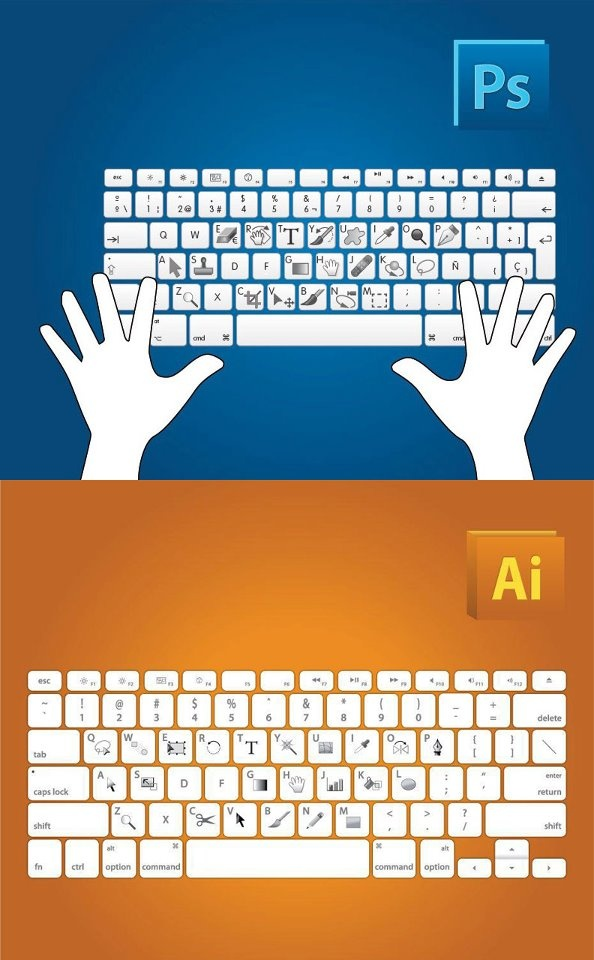 The way designers see the keyboard