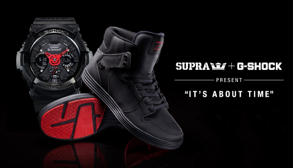 SUPRA X CASIO Limited Edition